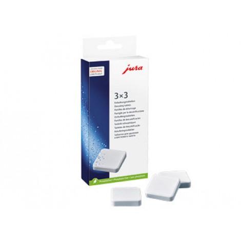 JURA - odvápňující tablety, 3x3 ks
