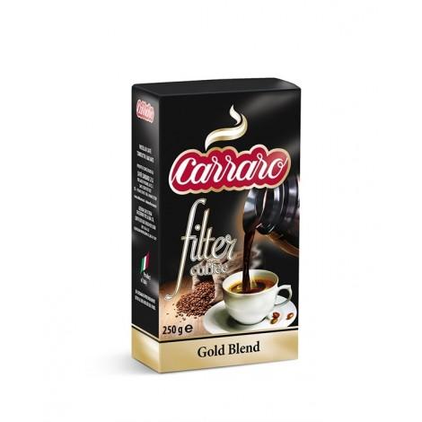 Gold Blend Carraro 250g, mletá káva